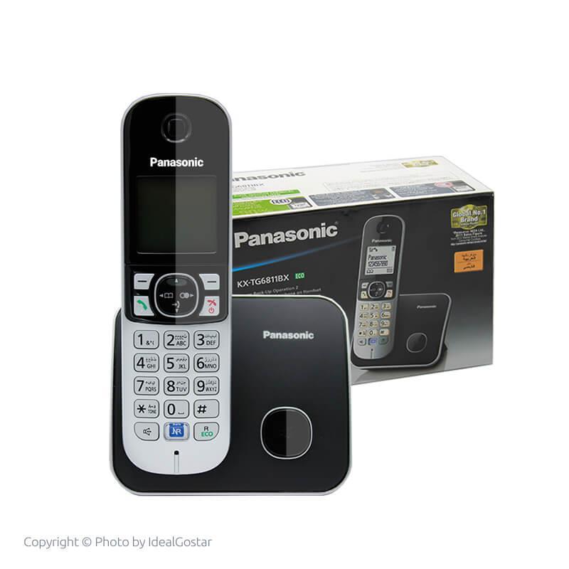 جعبه تلفن بیسیم پاناسونیک KX-TG6811
