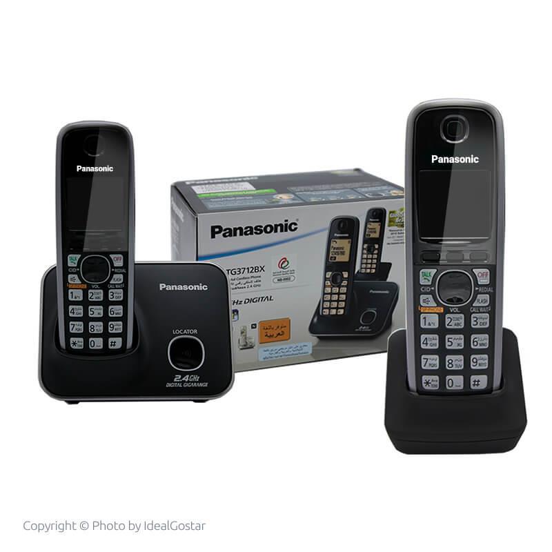 جعبه تلفن بیسیم پاناسونیک KX-TG3712