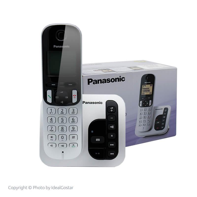 جعبه گوشی تلفن بی سیم پاناسونیک KX-TGC220