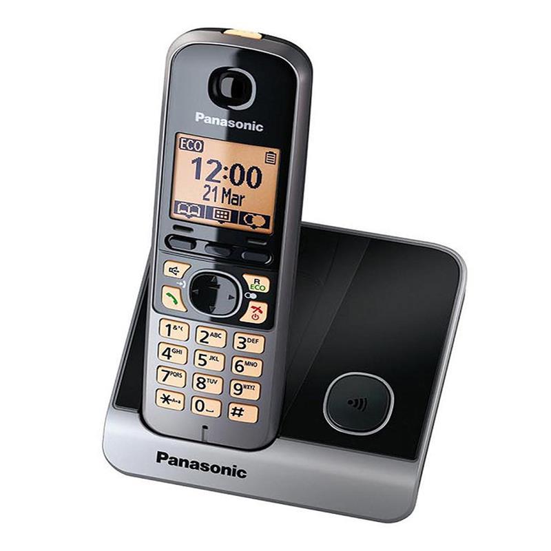 تلفن بی سیم پاناسونیک KX-TG6711 در حالت روشن