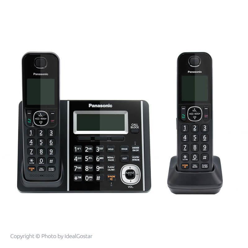 گوشی تلفن بیسیم پاناسونیک KX-TGF342 در حالت خاموش