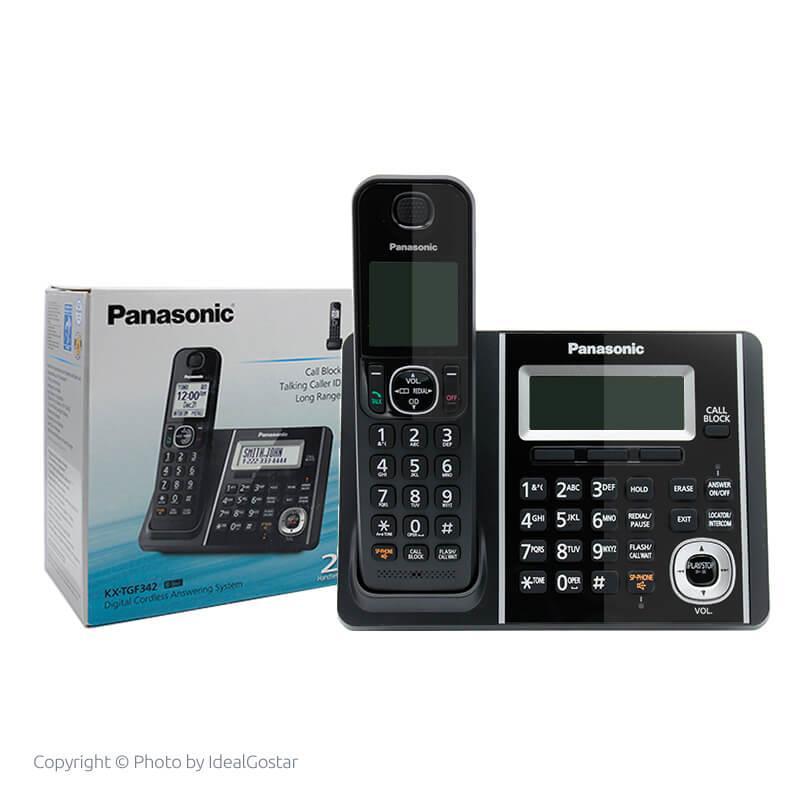 جعبه گوشی تلفن بیسیم پاناسونیک KX-TGF342