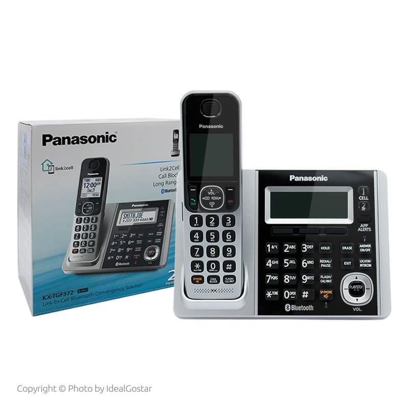 جعبه گوشی تلفن بیسیم پاناسونیک KX-TGF372