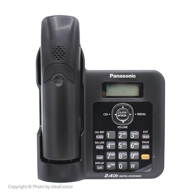 تلفن بی سیم پاناسونیک KX-TG3811 از پشت