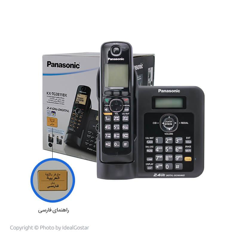 جعبه تلفن بیسیم پاناسونیک 3811
