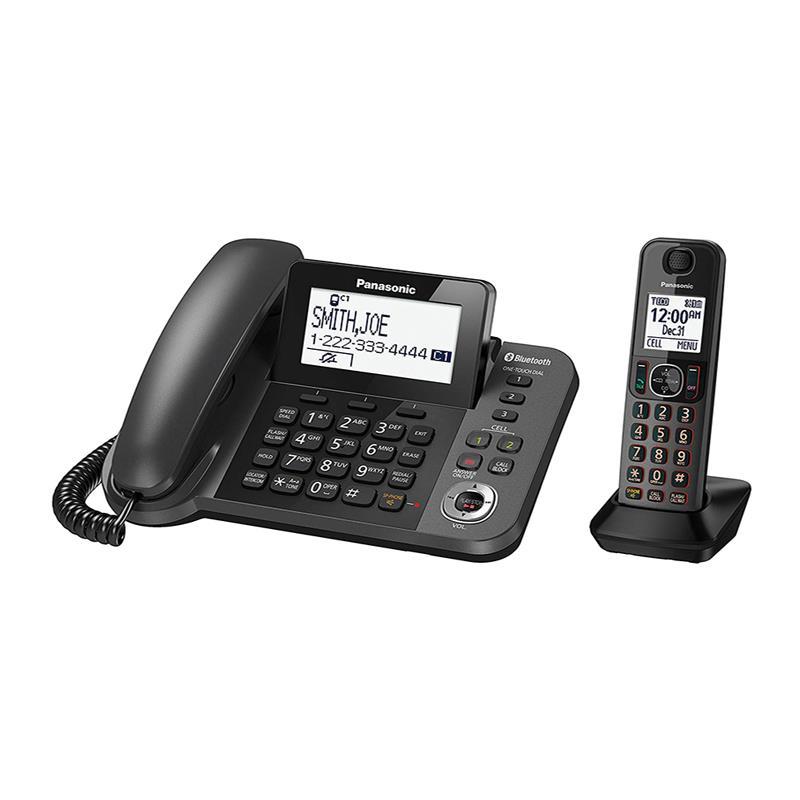 تلفن بیسیم پاناسونیک KX-TGF310 در حالت روشن