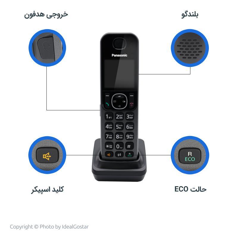 ویژگیهای گوشی بیسیم پاناسونیک F310
