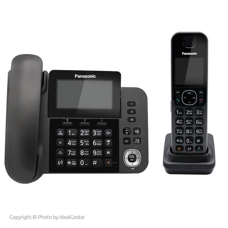 تلفن بی سیم پاناسونیک KX-TGF310 در حالت خاموش