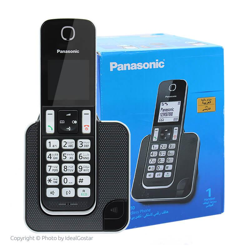 جعبه گوشی تلفن بیسیم پاناسونیک KX-TGD310
