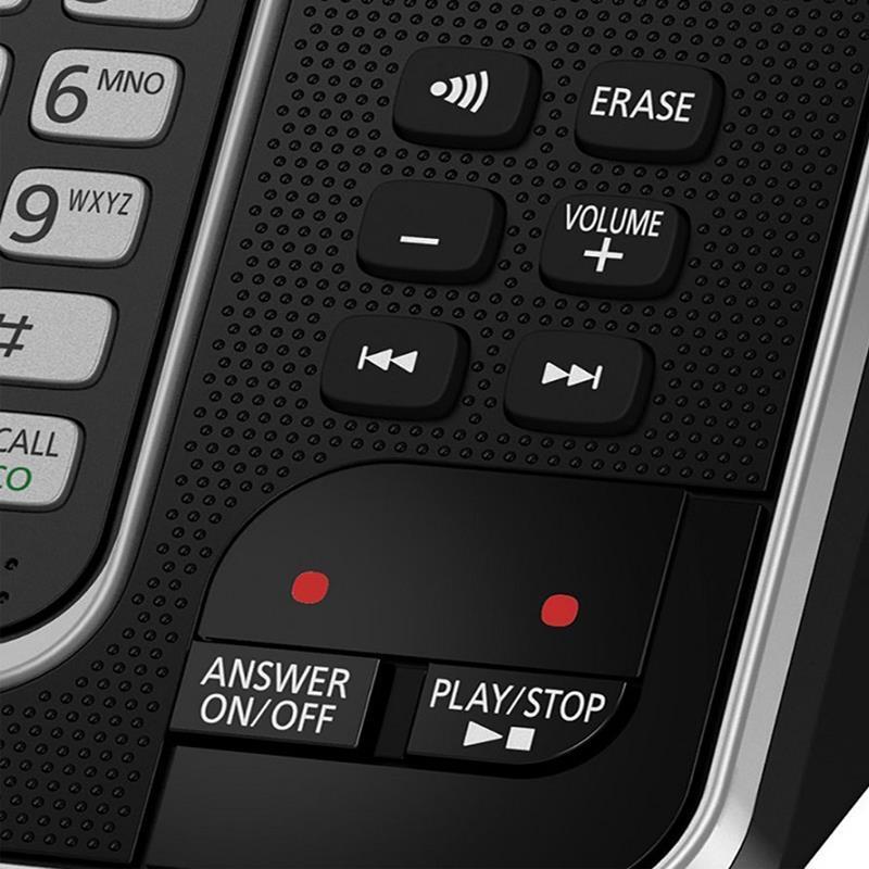 کلیدهای بیس گوشی تلفن بیسیم پاناسونیک KX-TGD320