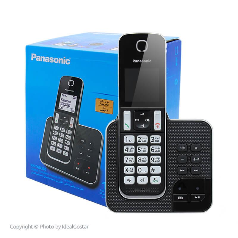 جعبه گوشی تلفن بیسیم پاناسونیک KX-TGD320