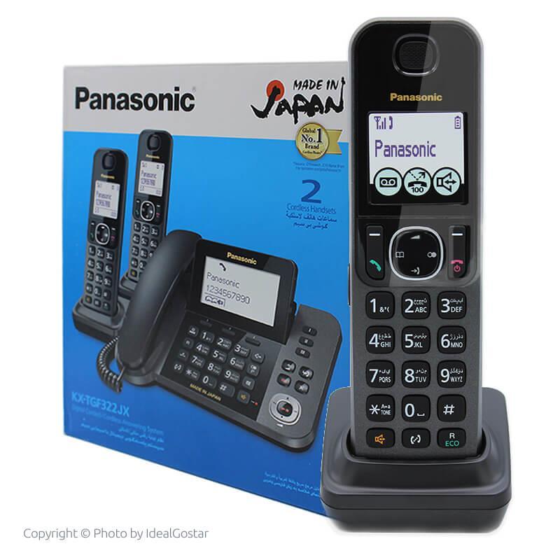 جعبه تلفن گوشی بیسیم پاناسونیک KX-TGF322