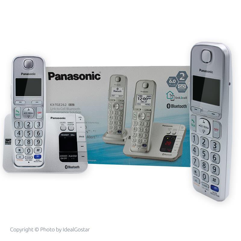 جعبه تلفن پاناسونیک KX-TGE262