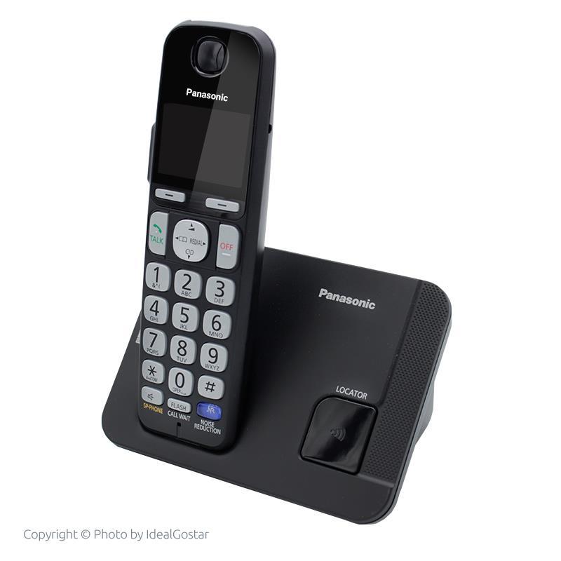 تلفن بی سیم پاناسونیک KX-TGE210 در حالت خاموش