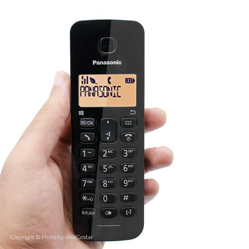 گوشی تلفن بیسیم پاناسونیک KX-TGB110 در دست
