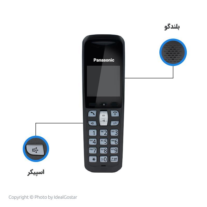 ویژگیهای گوشی بیسیم پاناسونیک KX-TGF120