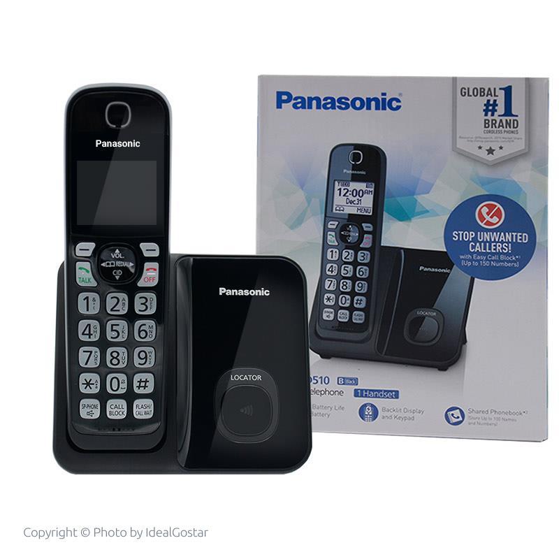 جعبه تلفن بی سیم پاناسونیک KX-TGD510