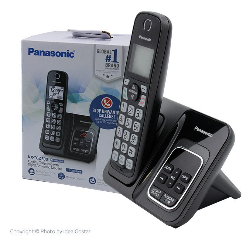 جعبه تلفن بی سیم پاناسونیک KX-TGD530