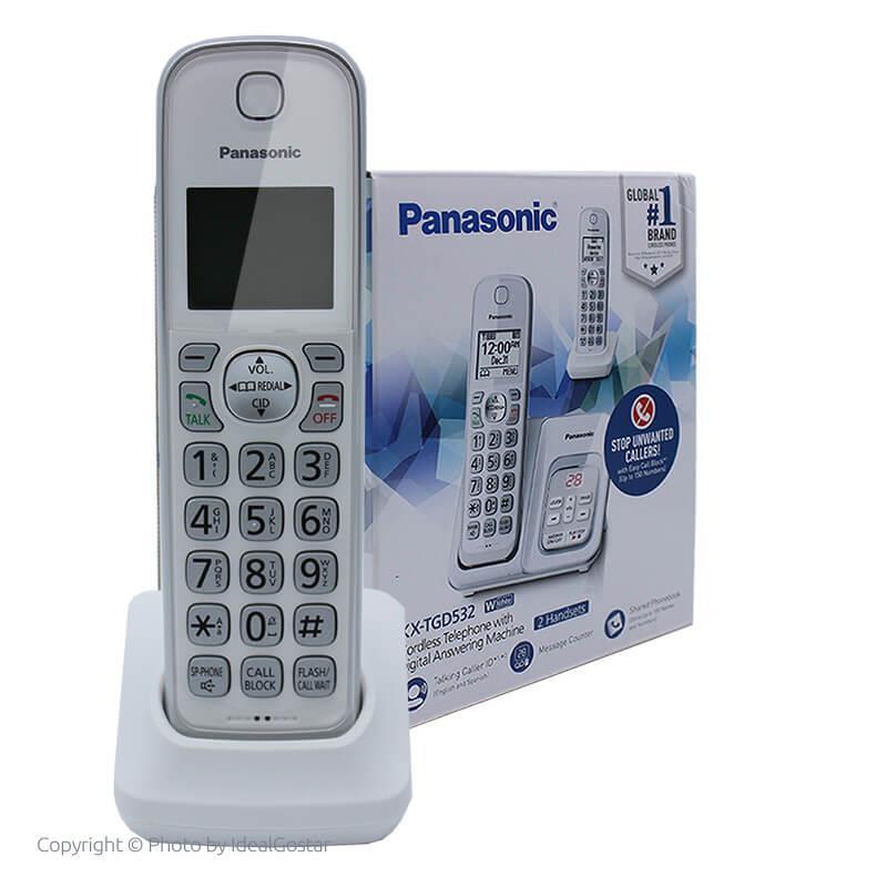 جعبه گوشی تلفن بی سیم پاناسونیک KX-TGD532