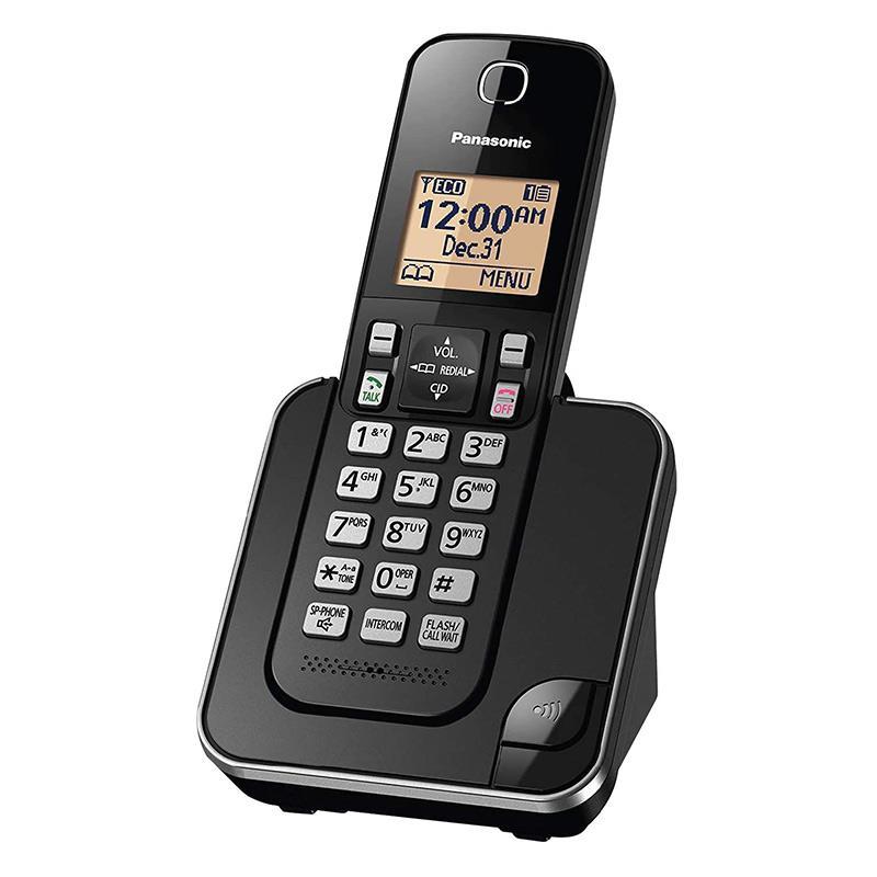 تلفن بی سیم پاناسونیک KX-TGC350B در حالت روشن