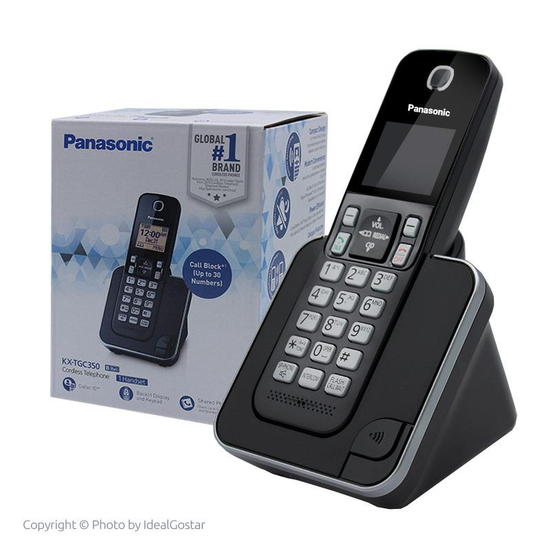 جعبه تلفن بی سیم پاناسونیک KX-TGC350B