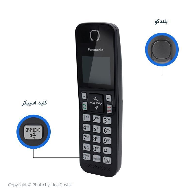 ویژگیهای گوشی تلفن بیسیم پاناسونیک KX-TGC352B