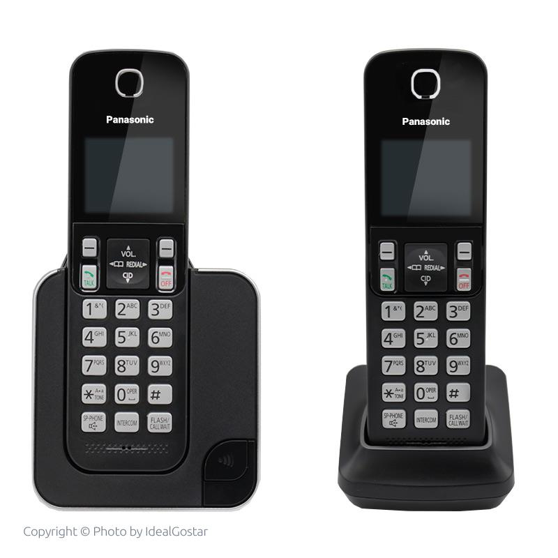 تلفن بیسیم پاناسونیک KX-TGC352B در حالت خاموش