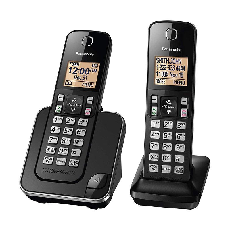 تلفن بی سیم پاناسونیک KX-TGC352B در حالت روشن