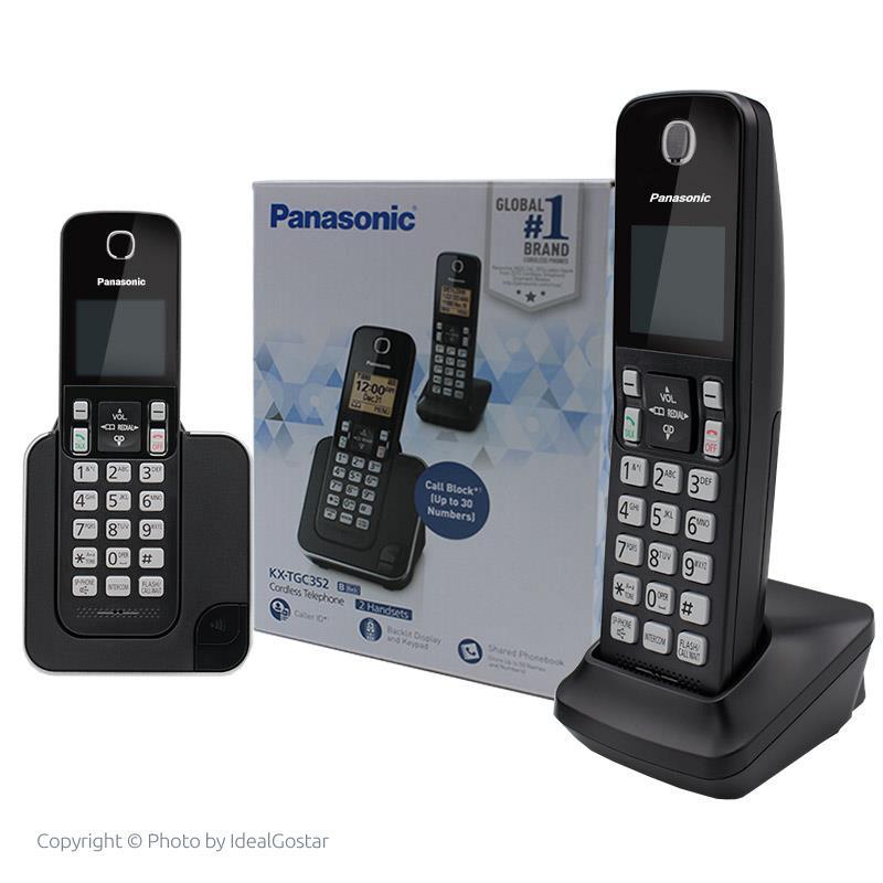 جعبه تلفن بی سیم پاناسونیک KX-TGC352B