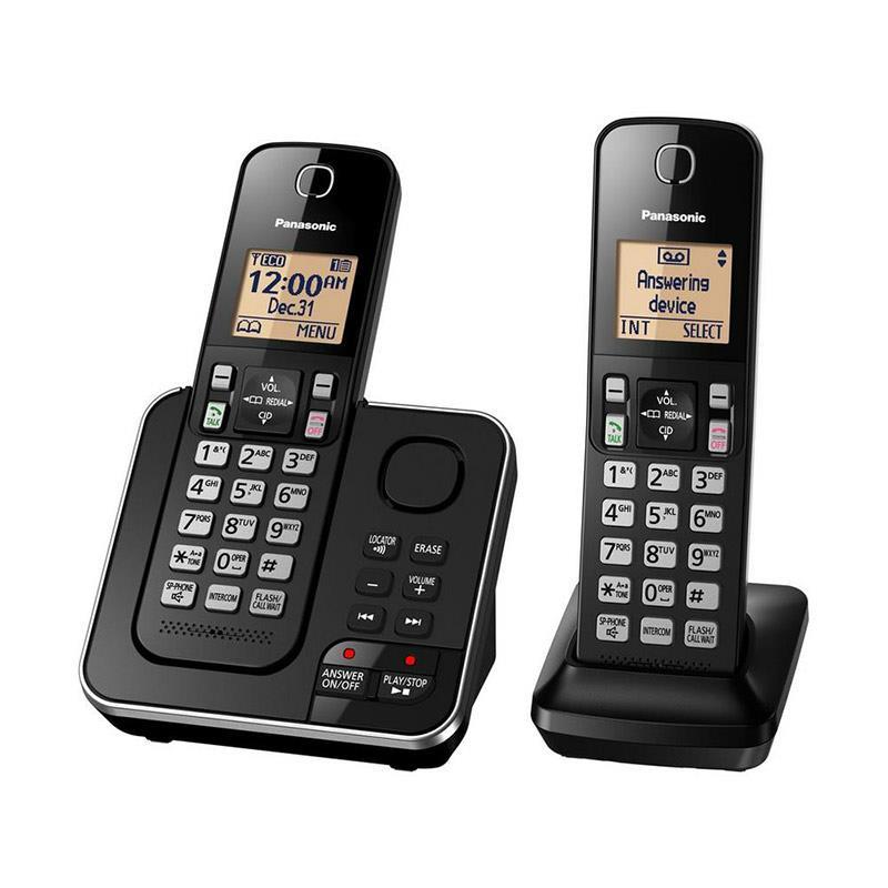 تلفن بی سیم پاناسونیک KX-TGC362B در حالت روشن