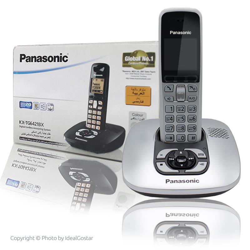 جعبه تلفن بیسیم پاناسونیک 6421